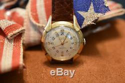 10k GF Original Condition WWII 1944-45 Gruen Pan Am Pilot Watch 420ss 534