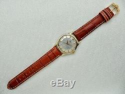 1959 Omega Constellation Pie Pan Cross Hairs Dial Original Box & Papers Cal. 561
