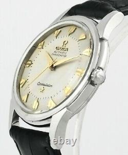 1960 OMEGA Constellation Pie Pan Cal 551 S/Steel Vintage Mens Wrist Watch