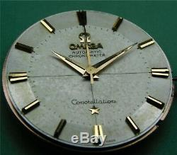 1960 Omega Constellation Automatic Chronometer 551 Pie Pan Dial Gold Caped