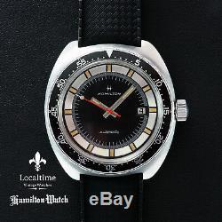 1960's HAMILTON'Pan-Europ' Automatic Diver Hamilton Cal. 694A ETA Cal. 2472