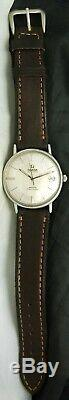 1960s OMEGA AUTOMATIC SEAMASTER MEISTER Pie Pan DATE WATCH 562 24J 14770 61 VTG