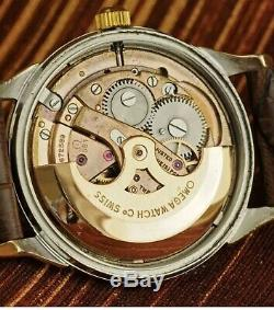 1962' Omega Constellation Calendar Original Deluxe Pie-pan Automatic Gold Plated