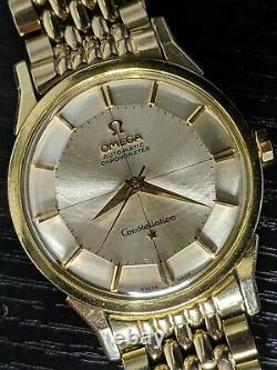 1962 Omega PIE PAN Constellation 14900 CB SERVICED 551 vintage watch