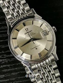 1963 Omega PIE PAN Constellation +BOR 168005 SGR SERVICED 561 vintage watch