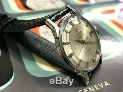 1963 Vintage OMEGA Constellation Pie-Pan 168.005 Stainless steel cal 561