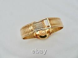 1965 18K Solid Gold Omega Constellation Pie Pan Dial Dog Leg Lugs 168.005 RARE