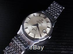1966 Omega Constellation PIE PAN SS 168005 + BOR -SERVICED 564- vintage watch