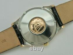 1966 Omega Constellation Pie Pan Dial Rose Gold Capped 168.005 Cal. 561 24 Jewels