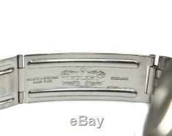 1966 Rolex Datejust mens watch stainless steel 18k, pie pan dial r. 1601 c. 1570