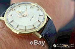 1966 Serviced Vintage Omega Constellation Gold Plated Cal 564 168.010 Pie Pan