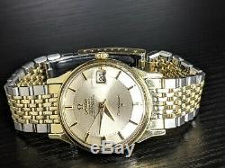 1967 Omega Constellation PIE PAN 168005 CB withBeads SERVICED 564 vintage watch