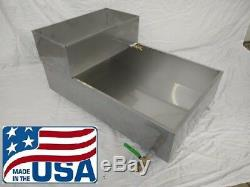 2'x3' Maple Syrup Pan withValve Feed Pan Evaporator Boiling stainless steel 24 36