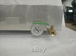 24x24x7 Divided Maple Syrup Boiling Pan valve thermometer stainless evaporator