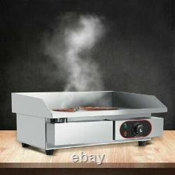 3000W Electric Grill Griddle BBQ Hot Plate Non-stick Smokeless Teppanyaki Pan
