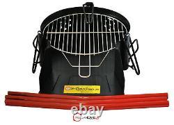 40cm Rustic BBQ & Paella Pan & Gas Burner Set The Ultimate Original Summer Kit
