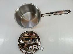 ALL CLAD C4 copper clad 2 qt QUART SAUCE pot PAN with lid MADE IN AMERICA