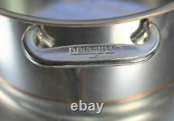 ALL CLAD Copper Core 8 Qt Stockpot Lid 6508 SS Stainless Steel Pot Pan USA Made