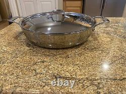 ALL-CLAD d5 Polished Stainless Steel ALL IN ONE PAN 6QT NEW See Details