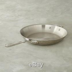 All-Clad 12 inch Copper Core 5-Ply Fry pan with Helper handle and Lid