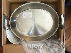 All Clad 17 Large Oval Roaster COPPER CORE 6815 SS USA Roasting Pan Paella