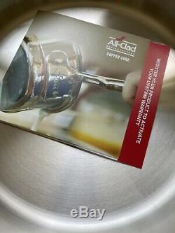 All-Clad 5-Ply Copper Core Stainless Steel 4-Qt All in one pan with Lid