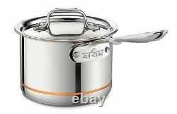 All-Clad 6202 SS 2-QT Copper Core 5-Ply Bonded Dishwasher Safe Sauce pan