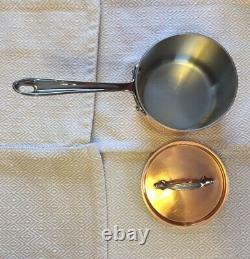 All-Clad Copper 2QT Sauce Pan Stainless Steel Made In USA