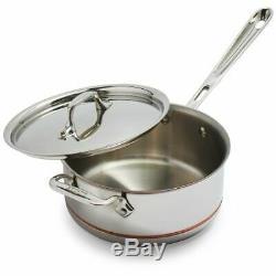 All-Clad Copper-Core 1.5-Qt. Sauce Pan, New