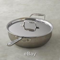 All Clad D5 Stainless Steel 4 Quart Essential Pan SD551211 NIB