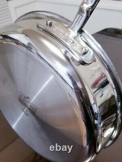 All-Clad d5 Stainless Steel 4 qt. Sauce Pan with Lid