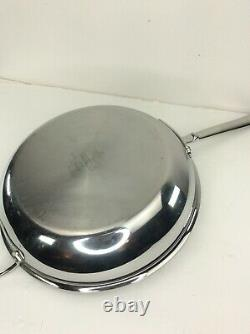 All-Clad d5 Stainless-Steel Fry Pan 12 4 Quart
