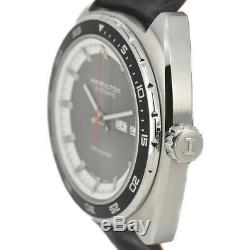 Auth Hamilton PAN-EUROP H354150 Day&Date Automatic Men's Watch S#91083