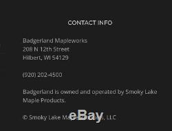 Badgerland 2'x3' Flat Maple Syrup Pan withValve. Stainless Steel, Evaporator