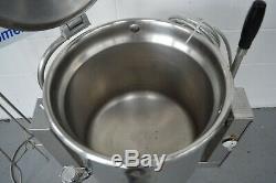 Benham boiling kettle boiling pan 42 litre tilting pan 240v Stainless steel FWO