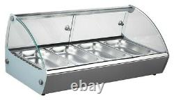 Blizzard HDC1 Heated Counter Top Display with 3 GN Pans (Boxed New)