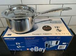 Brand New Le Creuset 3-Ply Stainless Steel Pan 14 Cm Not In Production
