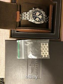 Breitling AB0110 PAN Frecce TriColori Chronomat 44 Limited Edition Chronograph