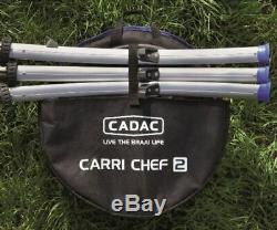 Cadac Carri Chef 2 BBQ Chef Pan Combo 2019 Model Caravan Camping BBQ