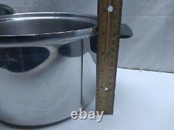 Chef's Ware Townecraft Multi-Core T304S 4 Qt Stockpot Dutch Oven Roaster Pan Lid