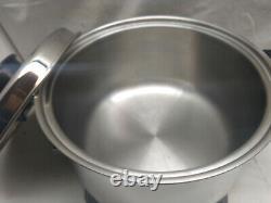 Chefs Ware Townecraft Stainless Liquid Core Electric 5 Qt Multi Cooker Pot Pan