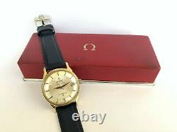 Excellent Omega Constellation Pie Pan Gold SS Automatic 564 Watch Swiss 1966 #2