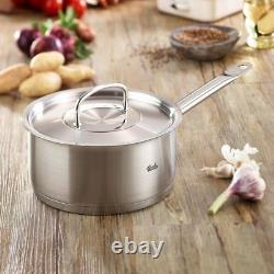 Fissler 2.7qt Stainless Steel Original Profi Collection Sauce Pan with Lid NEW