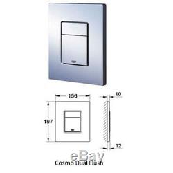 GROHE RAPID SL 5in1 WC FRAME ARLEY PROFESSIONAL WALL HUNG TOILET PAN WITH SEAT