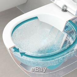 Geberit Duofix Delta Wc Frame + V&b O. Novo Direct Flush Toilet Pan 6in1 Set