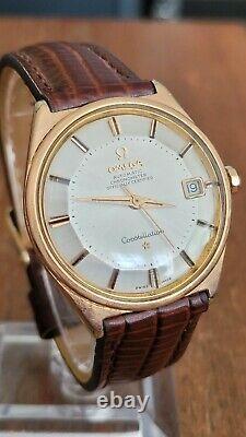 Gentleman's Vintage Omega Constellation, Chronometer Pie Pan Dial