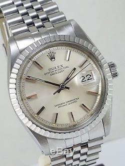 Gorgeous Rolex 1603 Pie Pan Stainless Steel'78 Caliber 1570 Authenticity Cert