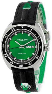 HAMILTON American Classic Pan AUTO Green Dial Men's Watch H35415761