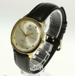 HAMILTON PAN-EUROP Date leather automatic Men's Wrist Watch 461715