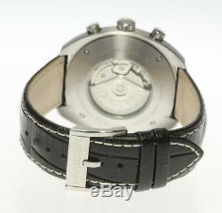 HAMILTON PAN-EUROP H357560 Chronograph Automatic Leather Belt Men's Watch 466422